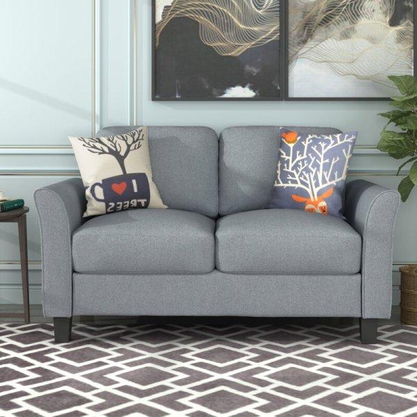 Kursi Sofa Modern Bohm Loveseat
