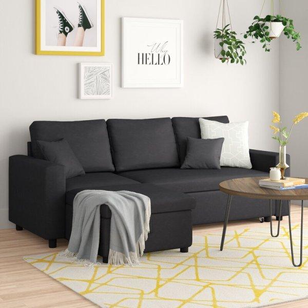 Kursi Sofa Sudut L Minimalis Vernita