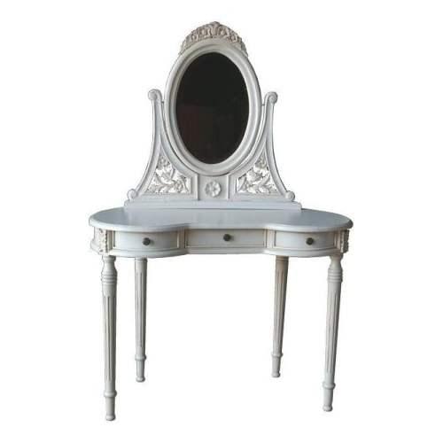 Meja Rias Kecil Minimalis Versailles Filigree