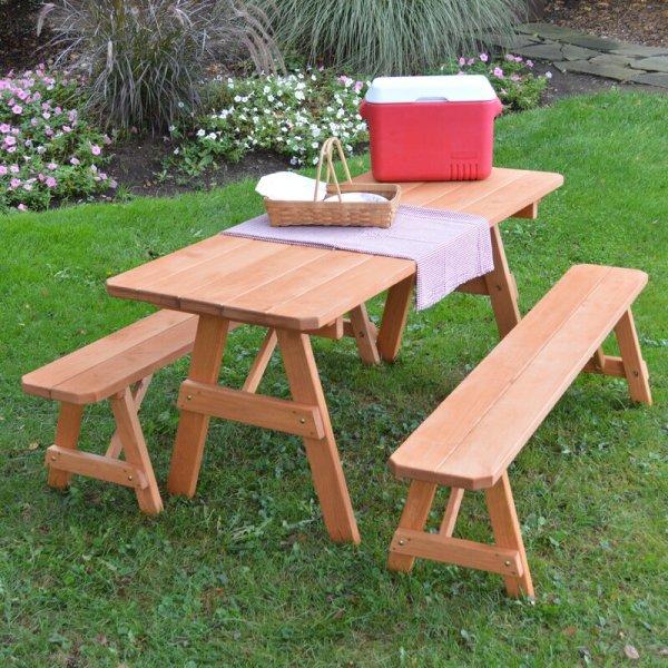 Set Meja Makan Outdoor Minimalis Roseboom