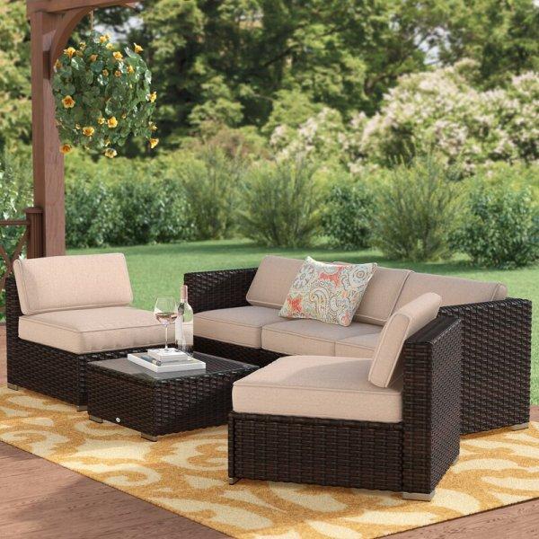 Sofa Rotan Minimalis Soria Outdoor