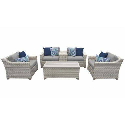 Sofa Rotan Tamu Minimalis Falmhout
