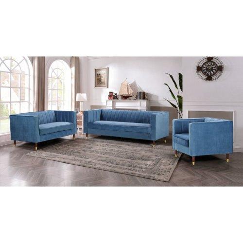 Sofa Ruang Tamu Satu Set Modern Louis