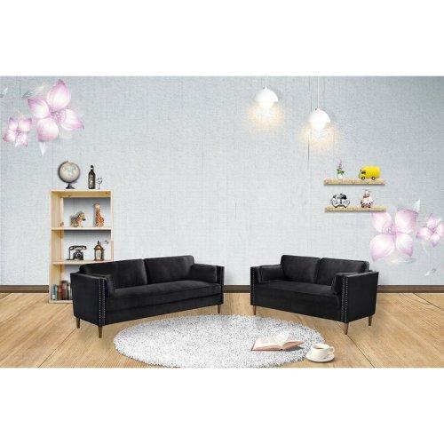 Sofa Set Kayu Jati Minimalis Telfair