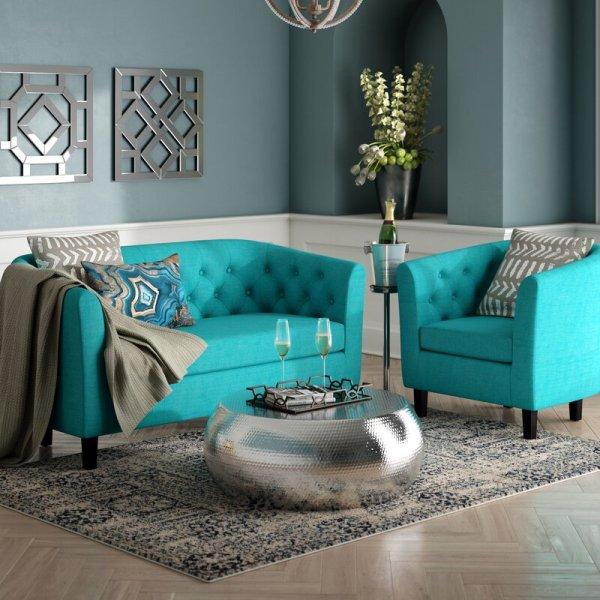 Sofa Set Ruang Tamu Modern Wilbur