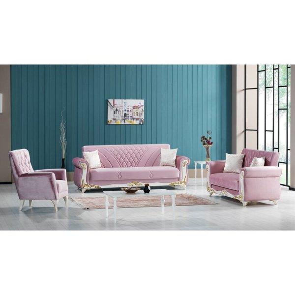 Sofa Set Terbaru Klasik Rosamond