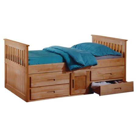 Tempat Tidur Anak Jati Klasik Captain