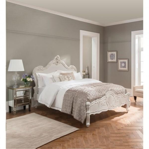 Tempat Tidur Klasik Modern Gaya Perancis