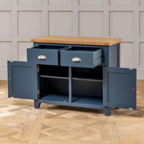 Bufet Minimalis Westbury Blue