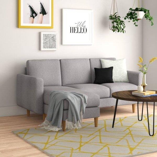 Sofa sudut Modern Allisonville