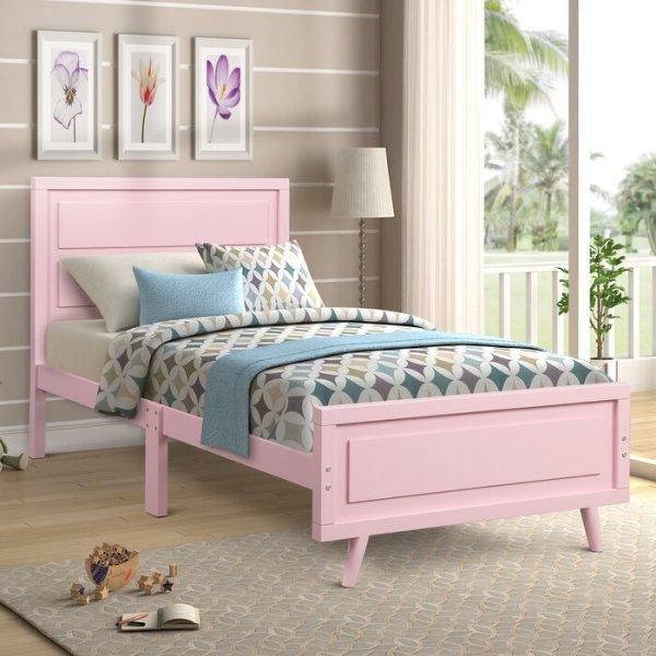 Tempat Tidur Anak Minimalis Pink