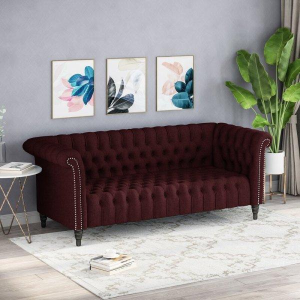 Kursi Sofa Tamu Klasik 3 Seater Capps