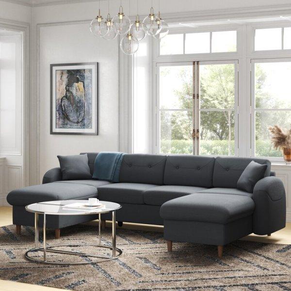 Kursi Tamu Sofa Sudut Modern Porto