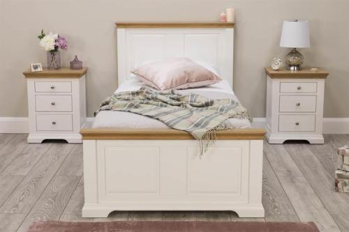 Ranjang Tidur Minimalis Westcoot White
