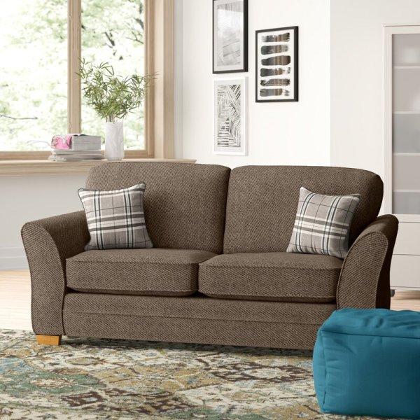 Sofa Tamu Minimalis 2 Seater Kayleigh