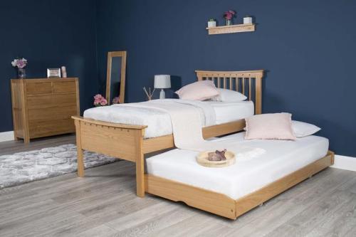 Tempat Tidur Jati Minimalis Portman Single
