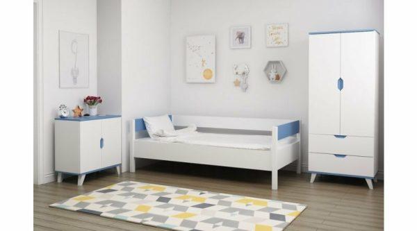 Kamar Set Anak Modern Blue Genc