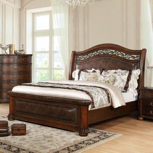 Set Tempat Tidur Mewah Jati Klasik Henn