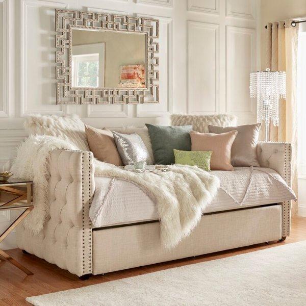 Sofa Bed Antik Button