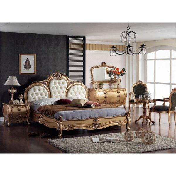 Tempat Tidur Mewah Satu Set Klasik Elwel