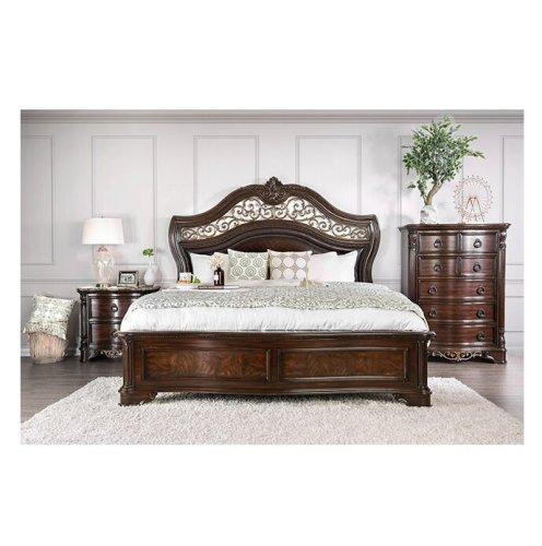 Tempat Tidur Set Jati Klasik Madeleine