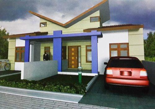 Desain Rumah Type 45 Kopel Minimalis Modern