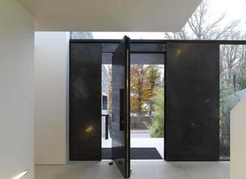 Model Pintu Rumah Minimalis Menurut Posisinya