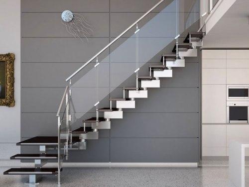 Desain Unik Inspirasi Tangga Rumah Minimalis 2 Lantai Modern