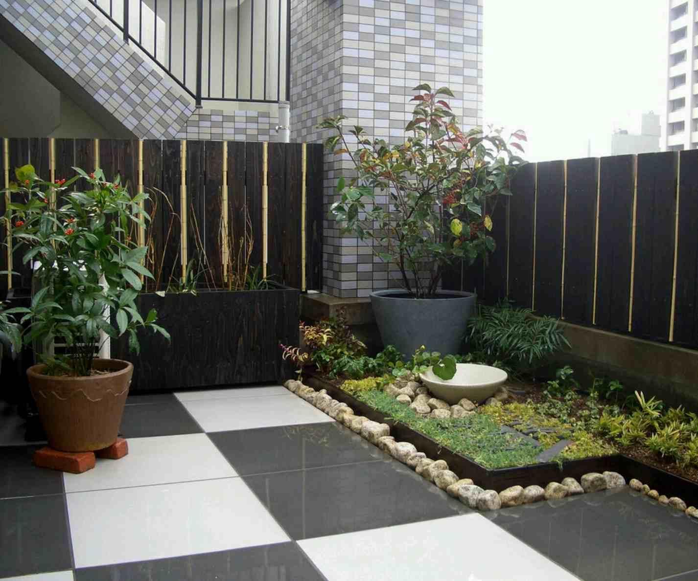 Desain Taman Kecil Rumah Minimalis Destaman