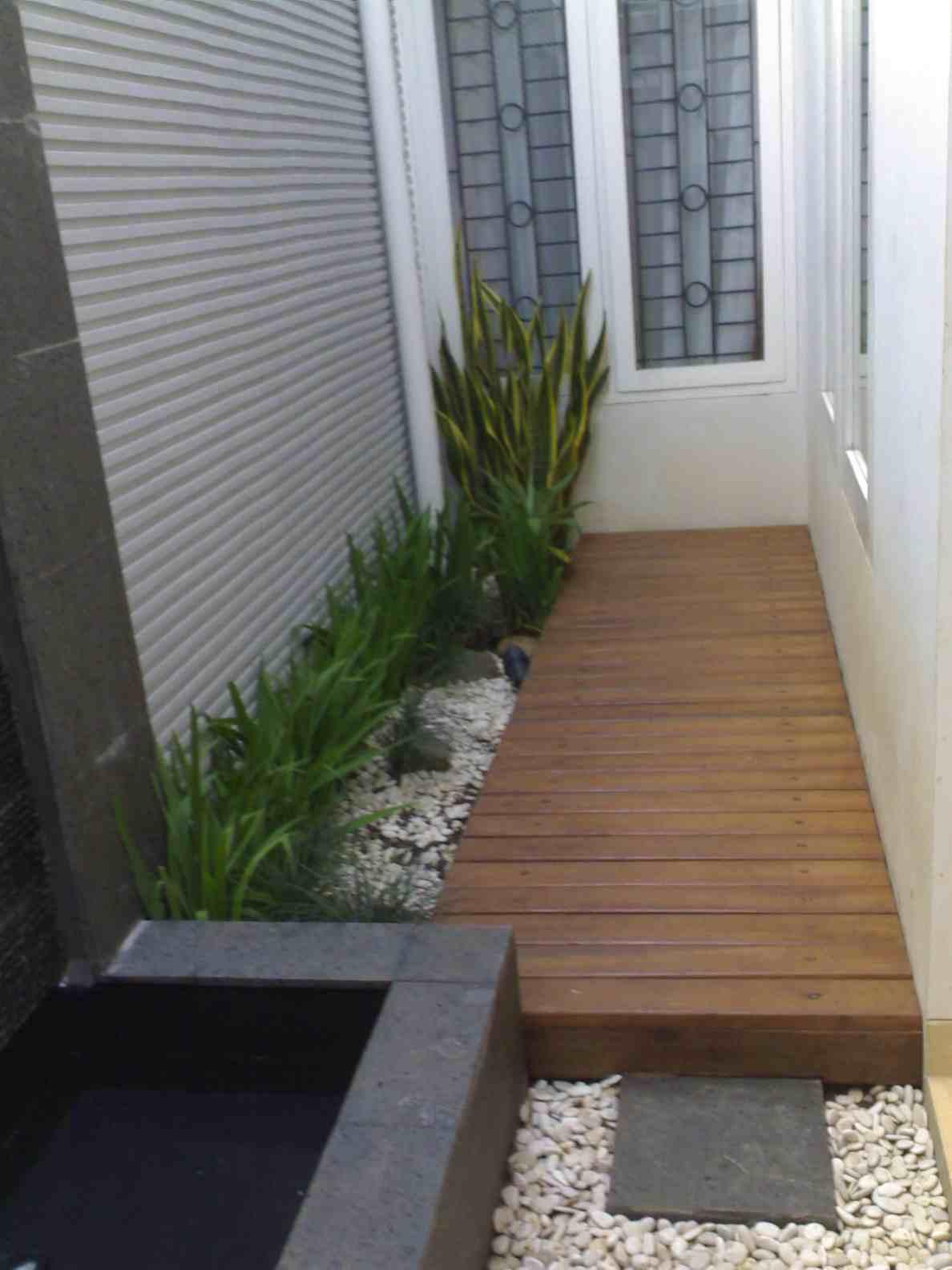 Taman Belakang Rumah Minimalis Lahan Sempit Destaman