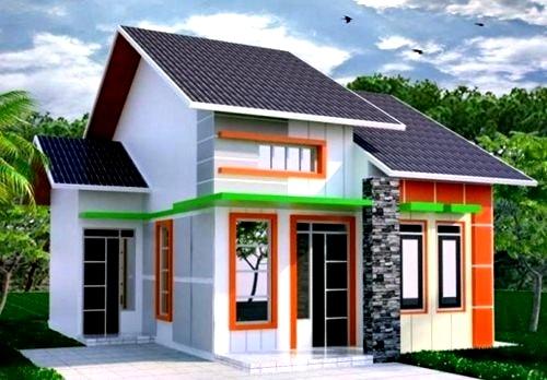Perpaduan Warna Cat Rumah Minimalis Bagian Luar 5