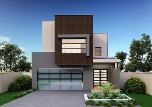 Desain Rumah Minimalis 2 Lantai Sederhana dan Modern 11 - 3 Inspirasi Desain Rumah Sederhana Impian Keluarga 2019