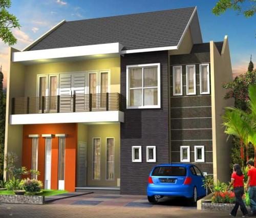 Desain Rumah Minimalis 2 Lantai Sederhana dan Modern 2 - 30 Desain Rumah Minimalis 2 Lantai Sederhana dan Modern Terbaru