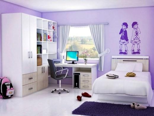 Warna Cat Kamar Tidur untuk Anak Perempuan 5