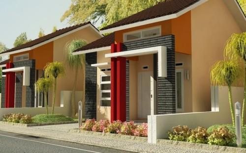 Desain Rumah Minimalis Type 45 Modern 14 - 20+ Desain Rumah Minimalis Type 45 Modern Terbaru 2018