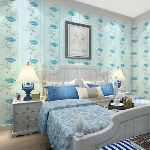 Desain dan Warna Cat Kamar Tidur Romantis 20 - 20+ Desain dan Warna Cat Kamar Tidur Romantis yang Cantik