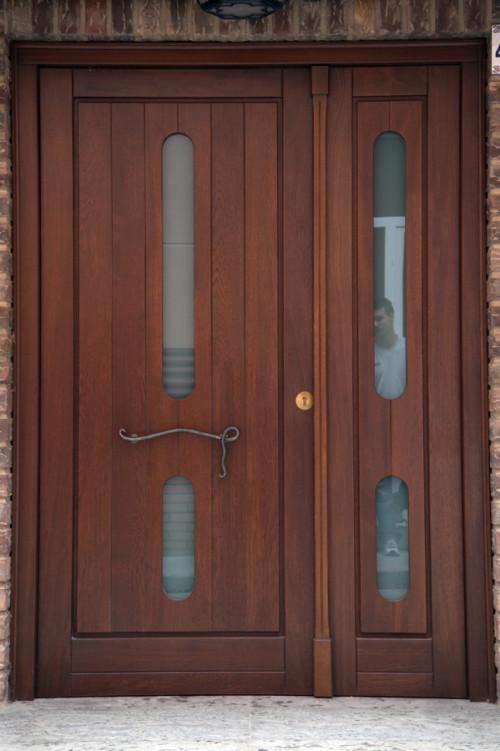 Gambar Pintu Rumah Minimalis 2 Pintu Besar Kecil 1 - Contoh Gambar Pintu Rumah Minimalis 2 Pintu Besar Kecil 2018