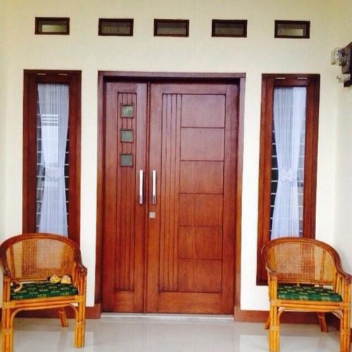 Gambar Pintu Rumah Minimalis 2 Pintu Besar Kecil 3