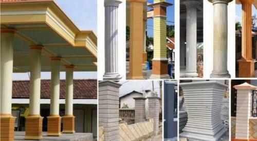 Model Tiang Teras Rumah Minimalis 6