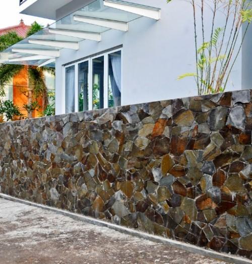 Pagar Rumah Minimalis Batu Alam 11 - 22 Gambar Pagar Rumah Minimalis Batu Alam Terbaru 2018