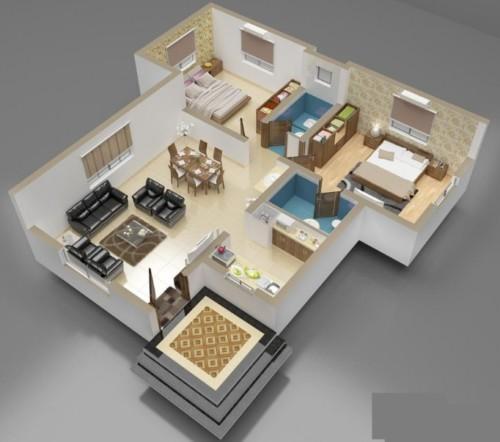 Sketsa Rumah Minimalis Sederhana 19 - 20 Contoh Gambar Sketsa Rumah Minimalis Sederhana Terbaru