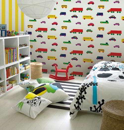 Wallpaper Dinding Kamar Tidur Anak Laki-laki 4