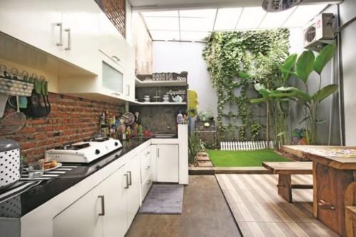 Desain Dapur Minimalis Terbuka Dekat Taman Belakang Rumah 14 - 15 Desain Dapur Minimalis Terbuka Dekat Taman Belakang Rumah