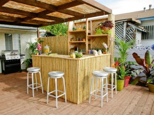 Desain Dapur Minimalis Terbuka Dekat Taman Belakang Rumah 4 - 15 Desain Dapur Minimalis Terbuka Dekat Taman Belakang Rumah