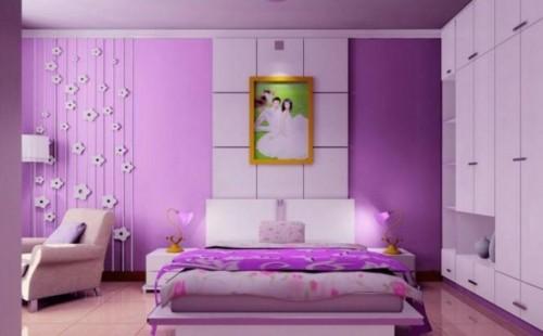 Desain Kamar Tidur Suami Istri Sederhana Tapi Romantis 9