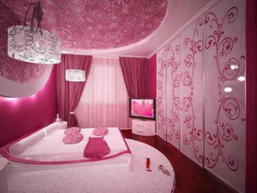 Wallpaper Desain Kamar Tidur Pengantin Romantis 7