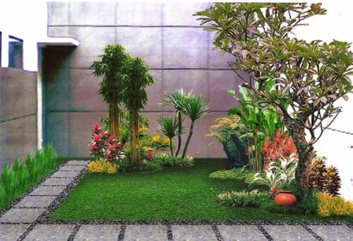Desain Taman Minimalis Belakang Rumah 5 - 23 Desain Taman Minimalis Depan dan Belakang Rumah Terbaik