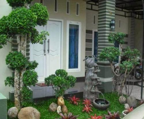 Desain Taman Minimalis Depan Rumah 2 - 23 Desain Taman Minimalis Depan dan Belakang Rumah Terbaik