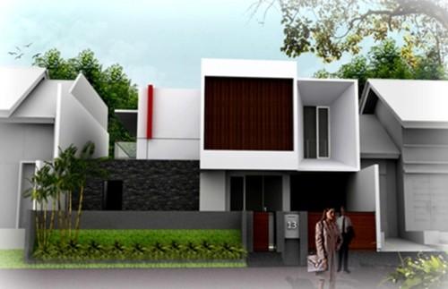 Gambar Tampak Depan Rumah Minimalis 2 Lantai Modern 8 - 30+ Gambar Tampak Depan Rumah Minimalis 2 Lantai Modern