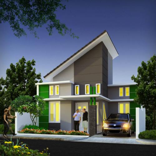 Model Atap Rumah Minimalis Bagian Depan 3 - 35 Model Rumah Minimalis 2018 yang Banyak Diminati